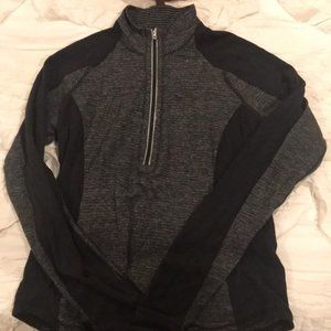 Womens Lululemon half zip pullover top size 12